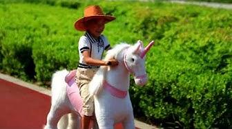 Ratsastettava lasten hevonen