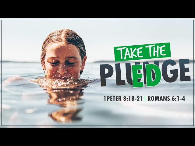 Take the PlEDge with Pastor Brian Clark
