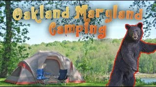 Oakland Maryland  *camping trip*