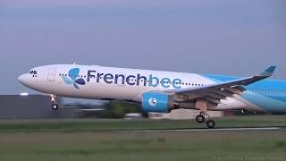 Airbus A330-300 F-HPUJ French Bee - Landing at Paris Orly Airport