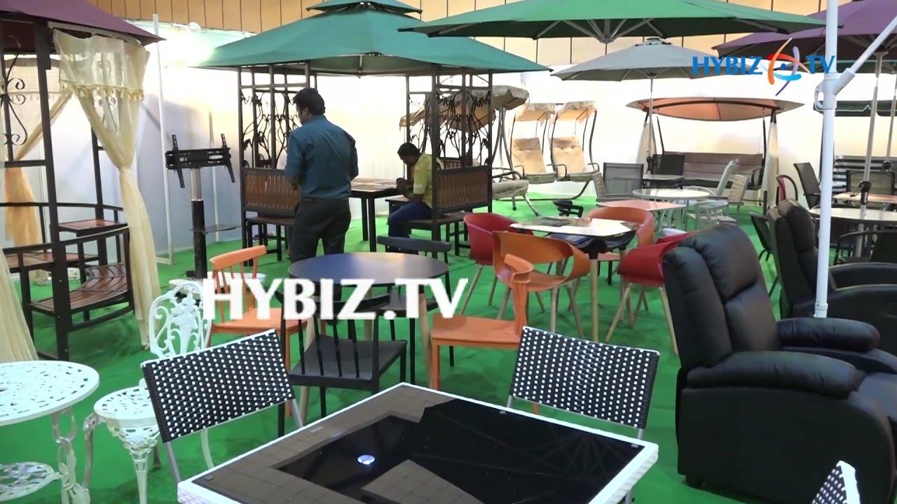 Furniture Expo Furniture Fair 2017 Hitex Hyderabad Hybiz Youtube