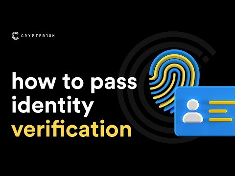 How To Verify Profile In Crypterium App