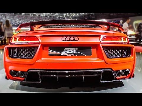 2017 Audi R8 V10 By ABT - 2017 Geneva Motor Show