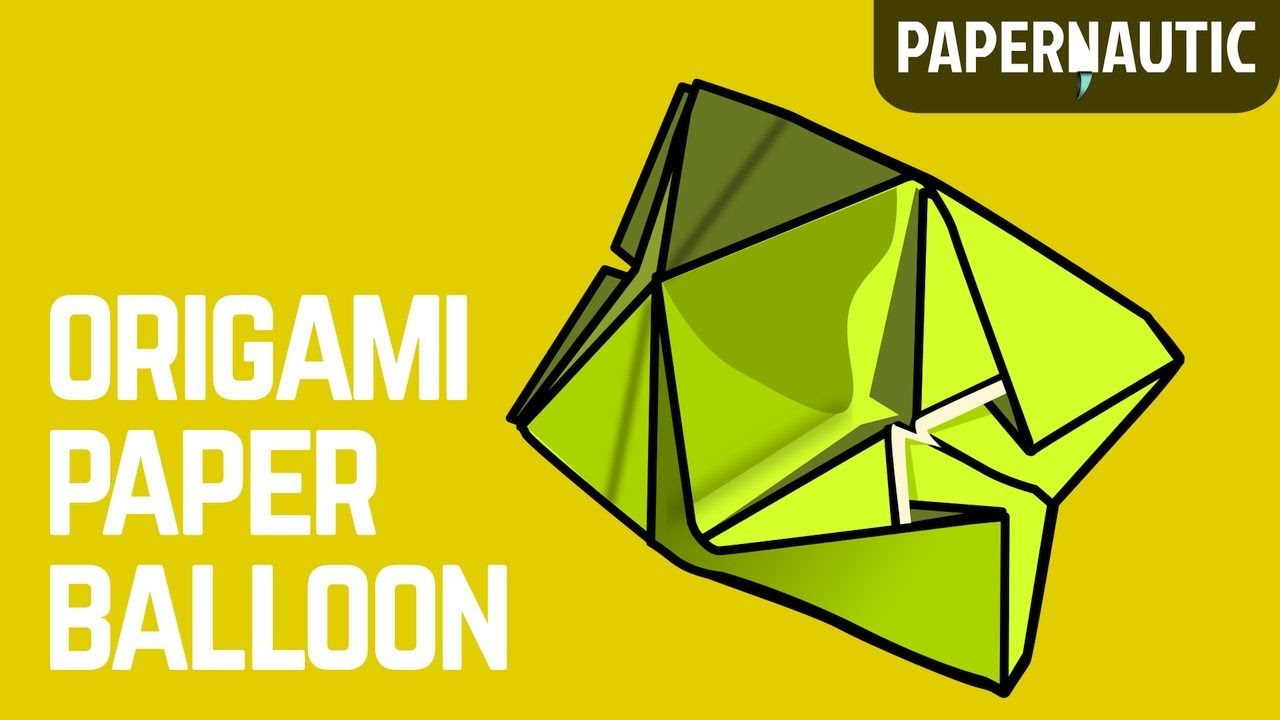 How To Make An Easy Origami Ball Paper Balloon Or Water Bomb
