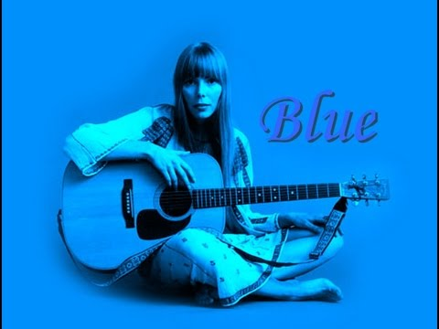 Joni Mitchell ♛ Blue ❐ HD ➥ Lyrics