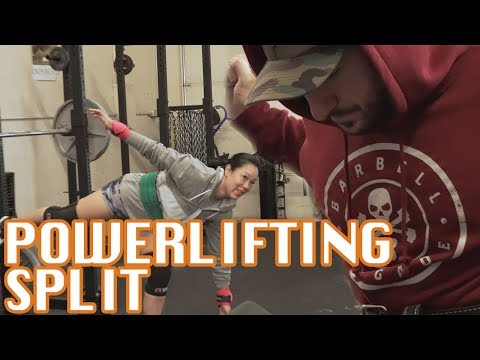 What Your Powerlifting Program Split Should Look Like
