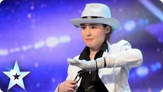 Michael Jackson's Smooth Criminal played on the spoons | Britain's Got Talent 2014