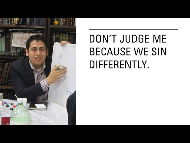 Don't Judge Me - Making of positive life with Rabbi Ravashi Adinyaguev