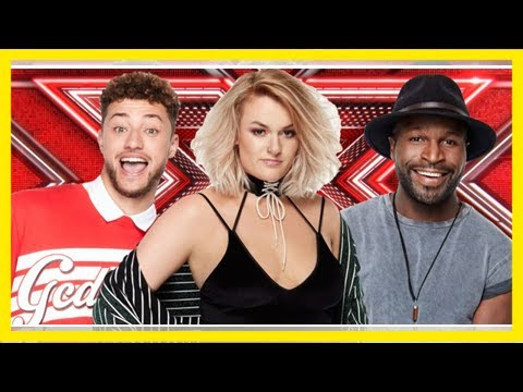 The x factor reveals song lists for finalists