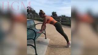 SUCH BEAUTIFUL GIRLS IN GYM Unreal Slow Motion Workout Training ...
