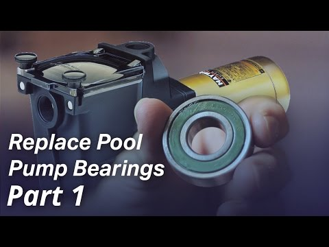 How To: Replace the Bearings in a Pool Pump Motor - Part I