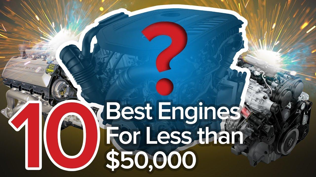 Top 10 Best Engines for Under $50,000: The Short List - Dauer: 6 Minuten, 52 Sekunden