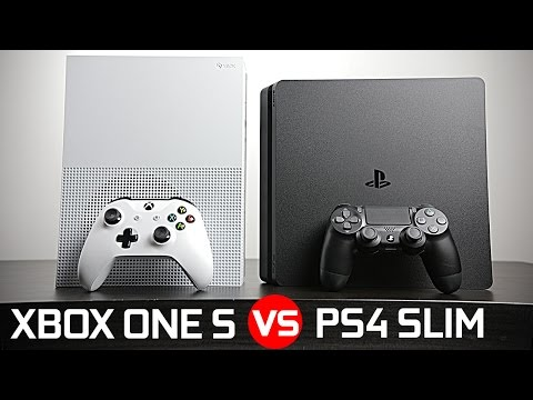 Playstation 4 Slim vs Xbox One S - Battle of The Compact Gaming Console