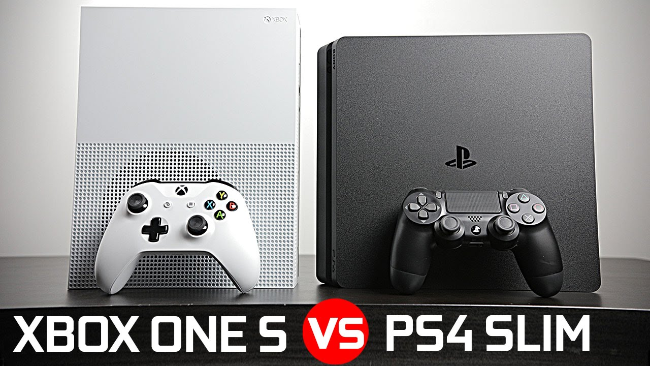 XBOX ONE S Vs PS4 PRO Upscale Technique