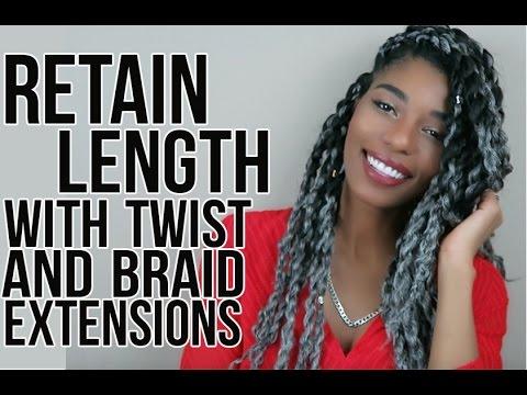 Braid extensions length
