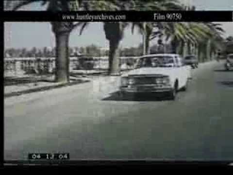 Tripoli, Libya in the early 1960's.  Film 90750