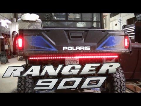 Polaris Ranger 900 Rear Turn Signal Install - YouTube