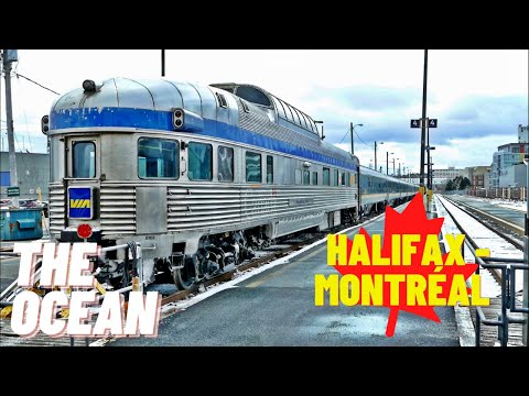The Ocean 🇨🇦 VIA Rail, Halifax to Montreal