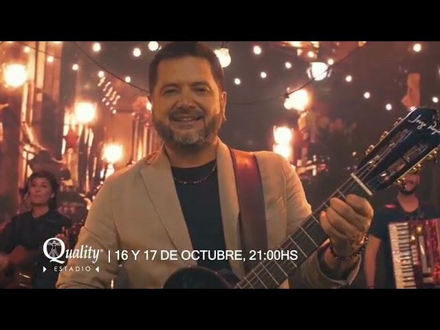 JORGE ROJAS EN ESPACIO QUALITY - 16 Y 17 OCTUBRE
