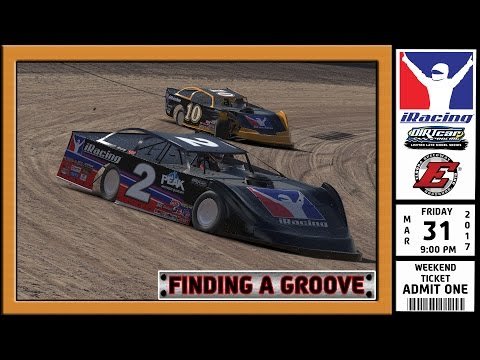 """""""iRacing: Finding a Groove"""" (DIRTcar Limited Late Model Series at Eldora Speedway)"""