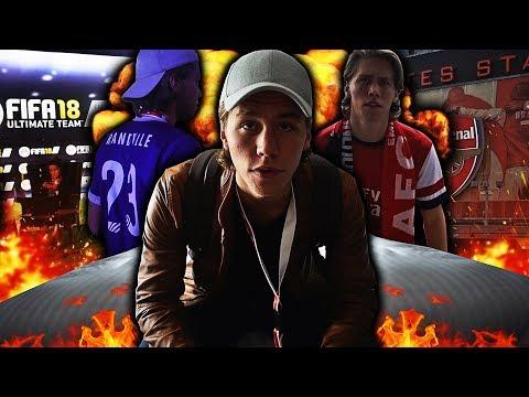 SER ARSENAL KAMP PÅ EMIRATES STADIUM FOR FØRSTE GANG!! 🏟️🔥 LONDON VLOG FRA FIFA EVENT!!
