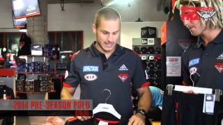 Heppell and Zaharakis visit Bomber Shop HQ