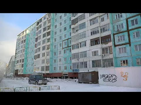 Degelo ameaça Rússia