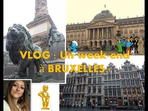 Vlog : Hello Brussels ! - Bonjour Bruxelles !