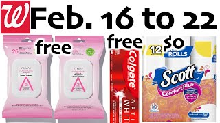 Walgreens **HOT FREEBIE DEALS** Feb. 16 to 22!