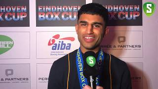 Meet Hamza Mehmood: the best athlete at the Eindhoven Boxing Cup 2018