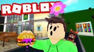 SOMEONE POISONED MY HAMBURGER IN ROBLOX BLOXBURG!