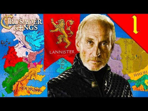 TYWIN LANNISTER! Crusader Kings 2: Game of Thrones: House Lannister #1