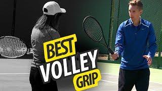 BEST Volley Grip   Tennis Lesson