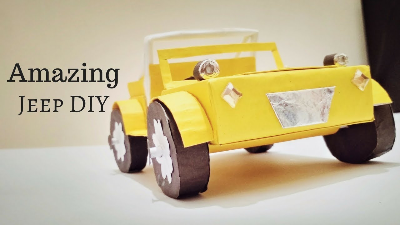 How To Make Jeep CJ5 Best From Waste Material   How To Make a Car ...