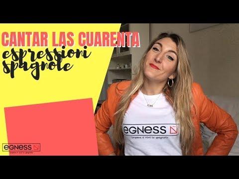Espressioni spagnole: CANTAR LAS CUARENTA