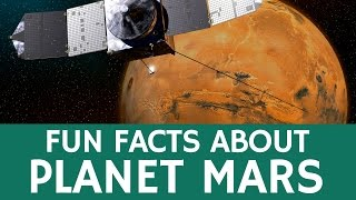 Fun Facts about Mars (Solar System Planet) – Educational Video for Kids