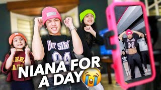 Being NIANA GUERRERO For A DAY! (Siblings Switching Lives) | Ranz and niana