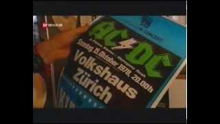 AC/DC in Zürich 10vor10 Bericht vom 7 April 2009