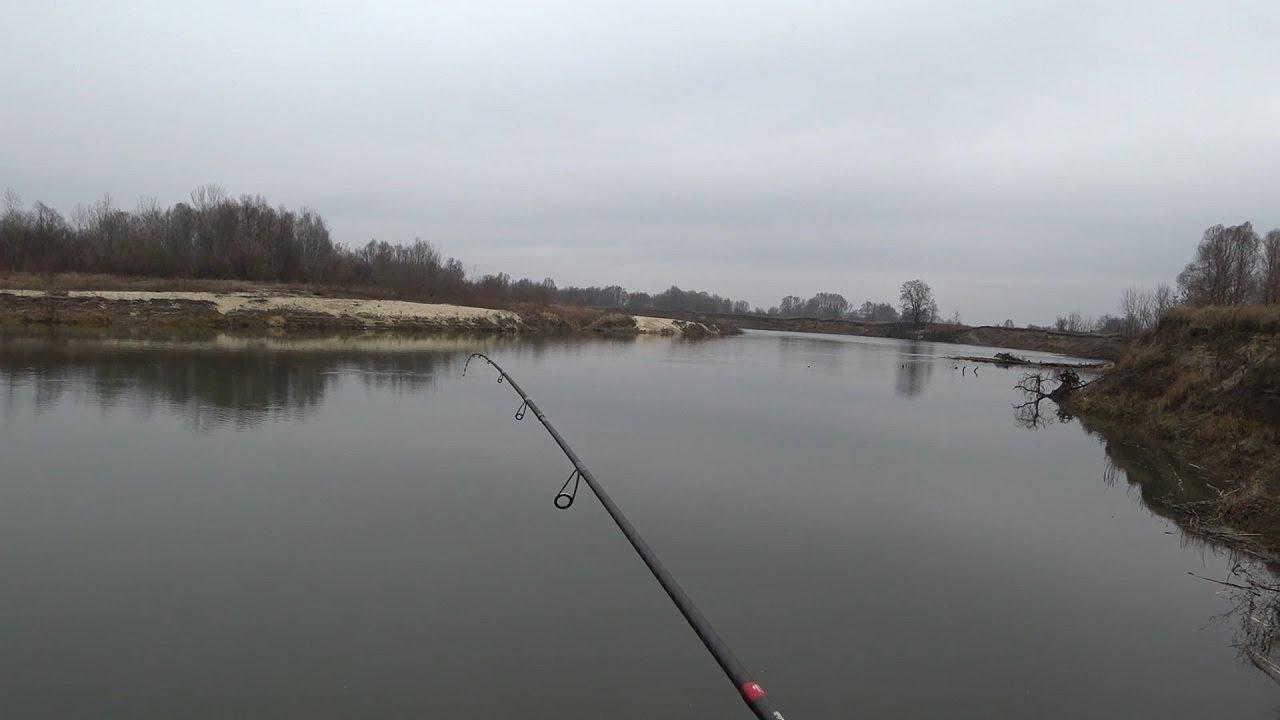 Рыбалка на реке позимь