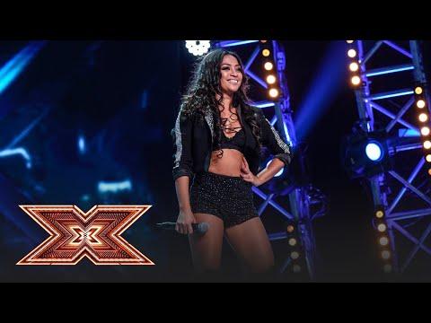"""Adele - """"Rolling in the deep"""". Vezi cum cântă Bella Santiago, pe scena """"X Factor""""!"""