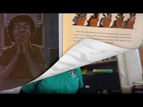 Upper Pittsgrove School's Read Across America '21: Salt in His Shoes