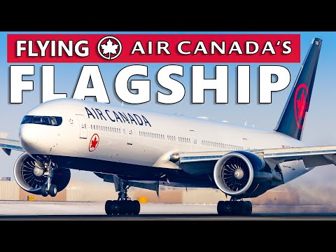 Flying Air Canada's FLAGSHIP! High Density 777-300ER Toronto To Calgary