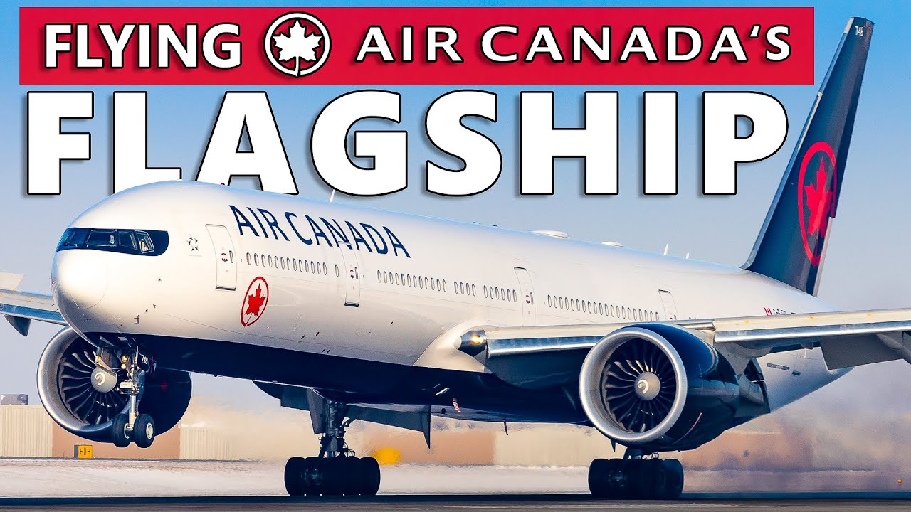 Flying Air Canada's FLAGSHIP! High Density 777-300ER Toronto to Calgary
