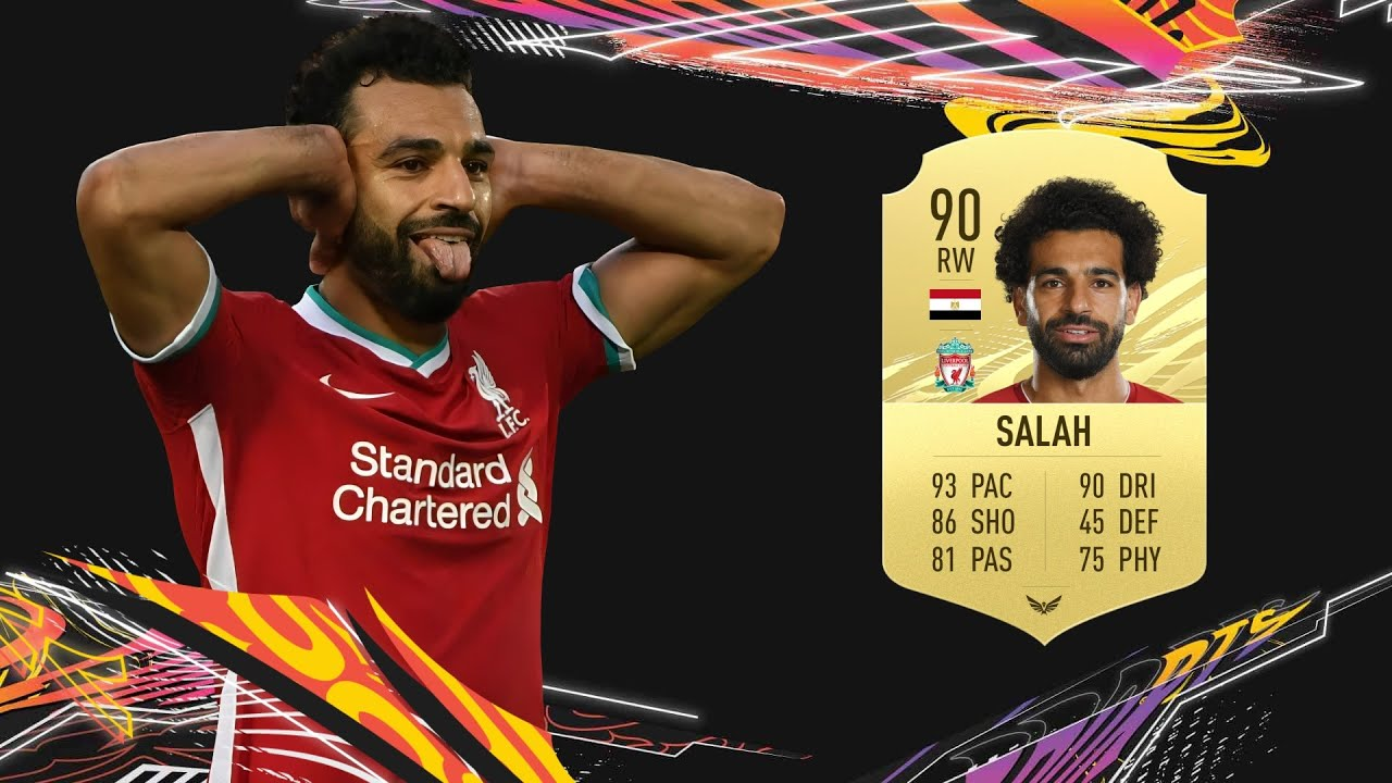 Mohamed Salah FIFA 21 Player Review - Egyptian Messi - YouTube