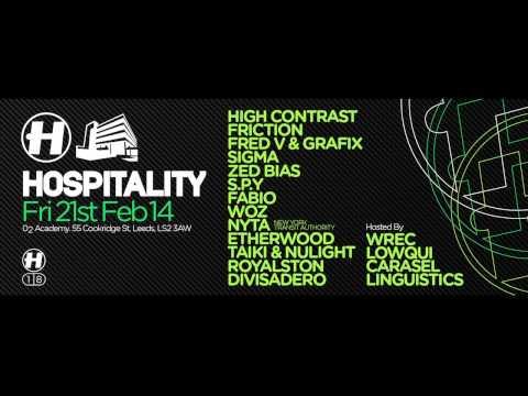 21.02.14 Hospitality Leeds - Divisadero Exclusive Mix