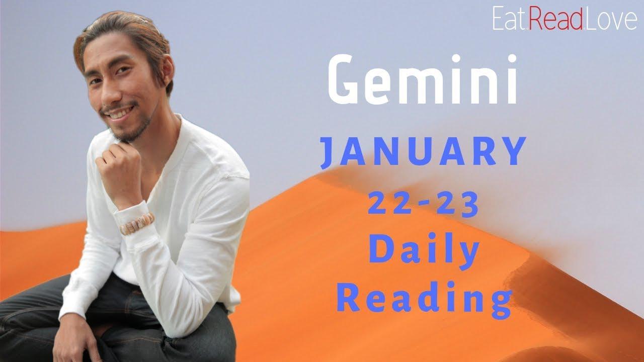 GEMINI DAILY `YOU CAUGHT IT EARLY` SOULMATE JAN 22-23 TAROT READING