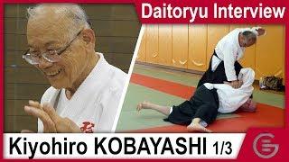 Aiki-jujutsu - Kobayashi Kiyohiro - Interview 1/3 (w/ subs EN, FR)