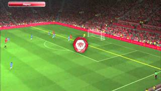 PES 2014: Chelsea vs Liverpool Gameplay