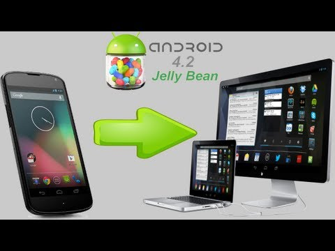 How To Install And Run Android 4.2.2 ( Jelly Bean) On Windows 7/8  [HD + Narration]