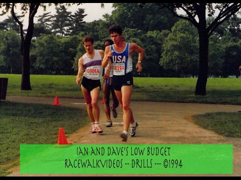 Ian and Dave's Racewalking Drills 1994